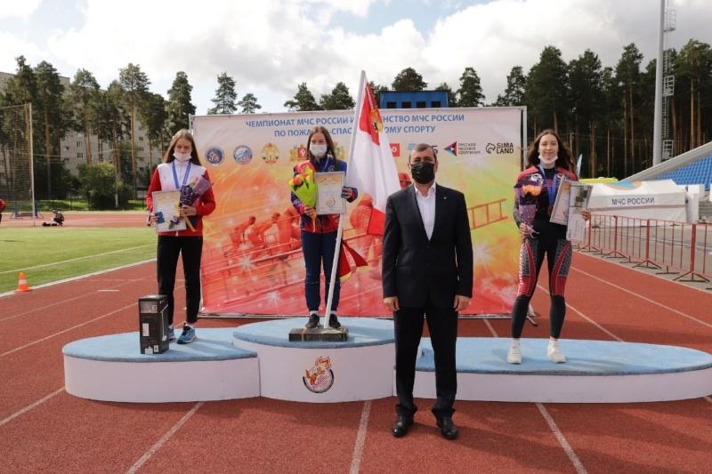 Школьница из Удмуртии вошла в тройку лидеров на Первенстве МЧС России